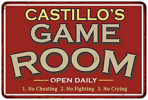 Chico Creek Signs CASTILLO