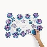 Fantastic Foam Snowflake Stamps (1 dz)
