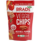Organic Veggie Chips, Red Bell Pepper, 12 Count