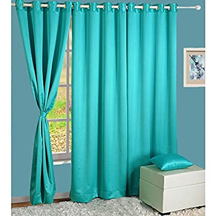 Merveilleux HOMEC Elegant Blackout Multi Eyelet Long Door Curtain Set Of 2 48 X 108 Inch