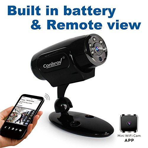 Conbrov Security Wireless Surveillance Cam White
