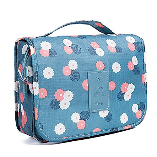 Multifunctional Travel Toiletry Bag Organizer Handy Cosmetic Pouch Makeup...