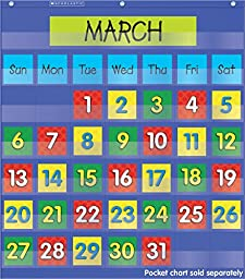 Scholastic Teacher\'s Friend Calendar Dates (3 colored sets of dates) (TF5402)