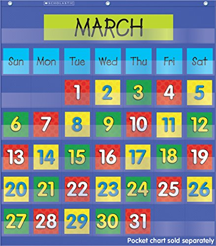 Scholastic Teachers Calendar colored TF5402 product image