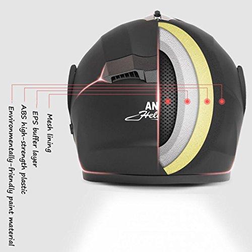German Style Half Helmet Motorcycle Cruiser Scooter Cool Halley Helmet,Black,XL Sanqing Summer Handmade Personality Vintage Harley Helmet Motorcycle