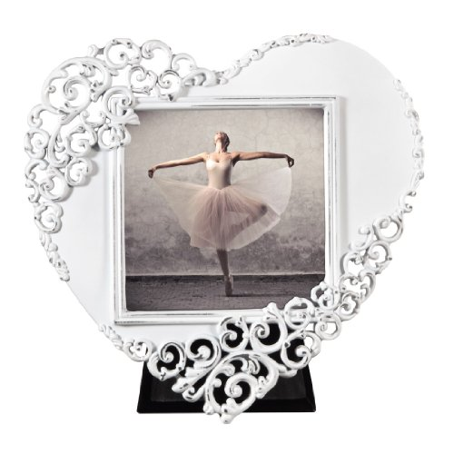 Hama Wales 00059902 Picture Frame Portrait Format Heart-Shaped 7.5 x 7.5 cm by Hama