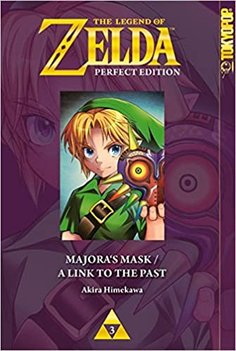 the legend of zelda perfect edition 03 majoras mask a link to