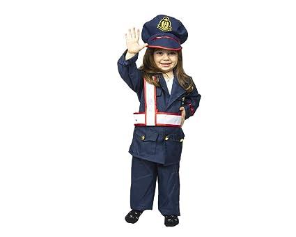 Traje Vestido Carnaval carabiniere Unisex bebé Policía ...
