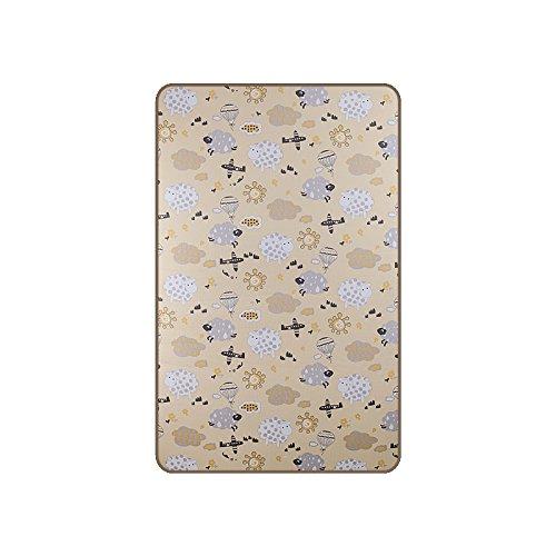 [pogmang]3D mesh mat / for 4 seasons / 100% cotton / infant mat / play mat/baby mat (ram ram)