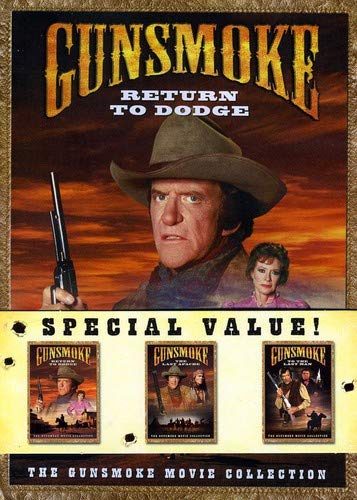 Gunsmoke Movie Collection (Return to Dodge/The Last Apache/To the Last Man) (57 Days Christmas To)