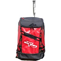 HeadTurners Pro Badminton Kitbag Backpack Style Red Camo/Black