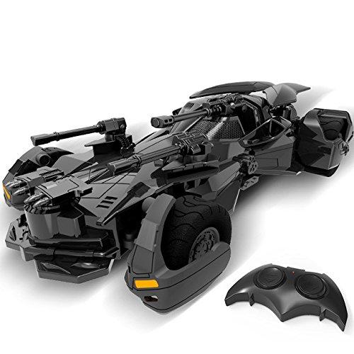 Toy, Play, Game, 1:18 Batman vs Superman Justice League electric Batman RC car childrens toy model Gift simulation display Batmobile, Kids, Children