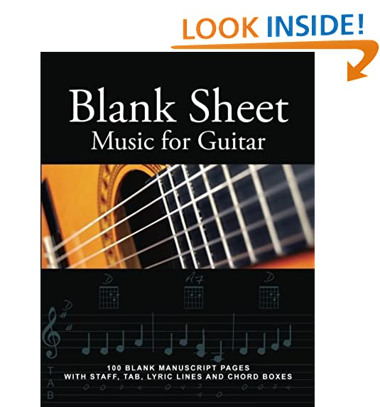 Guitar Sheet Music Amazon