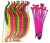 Sohapy Funny Bow and Arrow Sets Kids Toy Archery Set For Target Outdoor Garden Fun Game Sport & Party Favors