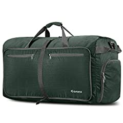 Gonex 100L Travel Duffel Bag, Foldable Duffle for Sport, Gym, Storage, Luggage, ShoppingWhat's it?As you may have bought our Gonex 60L/80L Duffel Bag before, this Bag is larger-100 liters capacity, which can be used as a large sports and gym ...