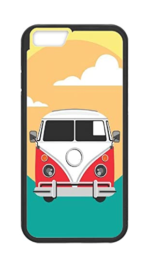 Yellow Volkswagen bus 2 iphone case