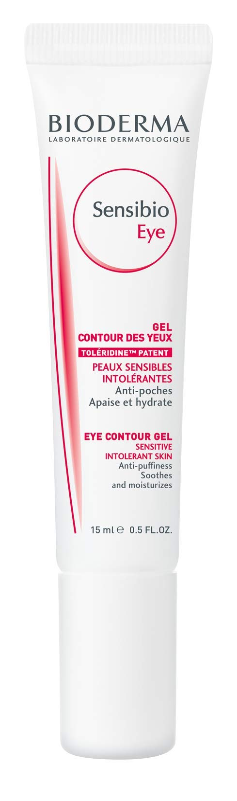 Bioderma Sensibio Anti-Puffiness Soothing and Moisturizing Eye Contour Gel for Sensitive Skin - 0.5 FL.OZ. by Bioderma