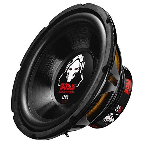 4 Ohm 2 Subwoofers - BOSS Audio P10SVC 1200 Watt, 10 Inch, Single 4 Ohm Voice Coil Car Subwoofer