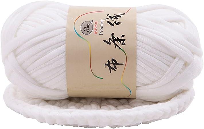 Jersey Yarn Olive Ribbon Yarn 100/% Cotton T Yarn Organic Knitting Yarn Ball Thick Fabric Yarn T-Shirt Yarn Fettuccini Zpagetti Style Tshirt Yarn for Crocheting Macrame T-Yarn