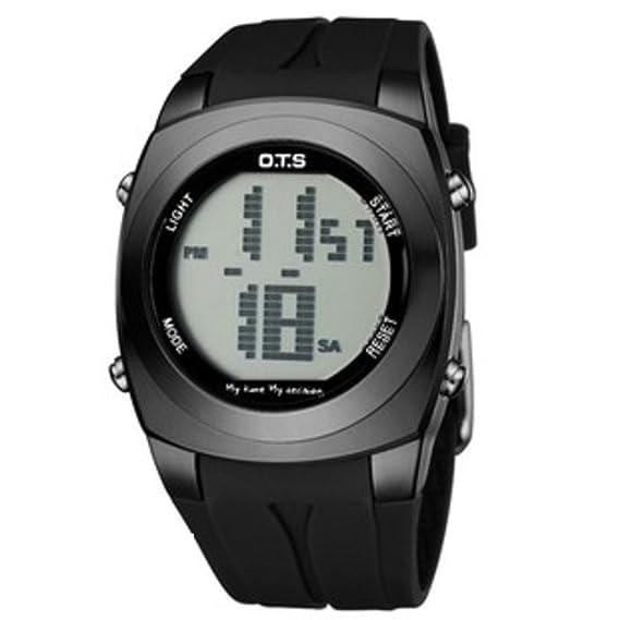 Reloj digital de moda juvenil/Luminoso exterior resistente al agua relojes-G