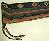 Native American Flute Bag - Beautiful Southwest - Heavy Woven Material