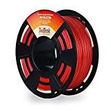 Red 3D Printer Plastic Filament PLA 1KG 1.75, Dimensional Accuracy of +/- 0.05mm