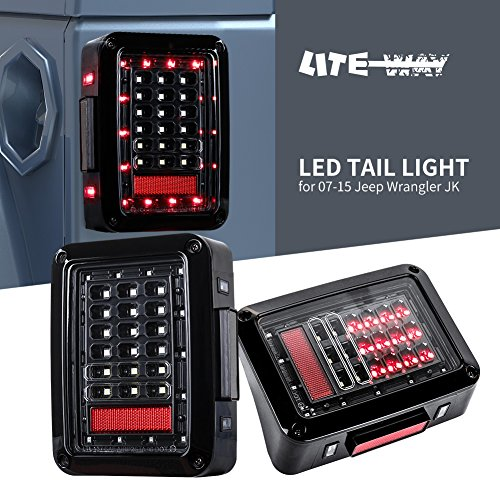 Wrangler Led Tail Light Conversion