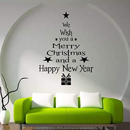 Decoracion de muebles, BaZhaHei, Árbol de navidad letras ...