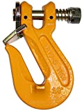 Ships in 1 to 2 Business Days! BA Products G8-206-38-x2, Set of 2, 3/8'' Grade 80 Twist Lock Grab Hook for 3/8'' Chain