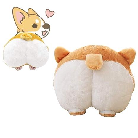 Amazon.com: Waty Corgi Butt almohada de felpa para perro ...