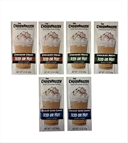 McSteven's - The Chosen Frozen Chocolate Drink Mix (Pack of 6) (Drink Mix Bundle - 2 of Each) (Favors Wedding Cocoa Hot)
