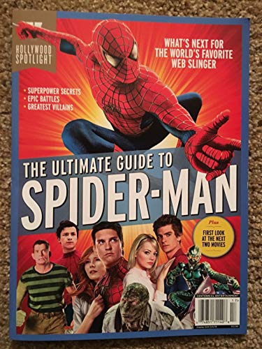 Spider Man Magazine - Hollywood Spotlight Ultimate Guide To Spider-Man Magazine 2018 (17)