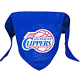 Hunter MFG Los Angeles Clippers Mesh Dog Bandana, Small