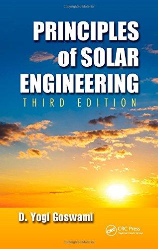 Principles of Solar Engineering (Solar Energy Dish)