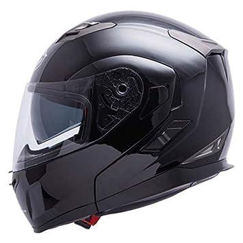 b334eb50 MT FLUX FLIP UP FLIP TOP MOTORCYCLE MOTORBIKE TOURING DUAL VISOR HELMET  GLOSS BLACK S: Amazon.co.uk: Car & Motorbike