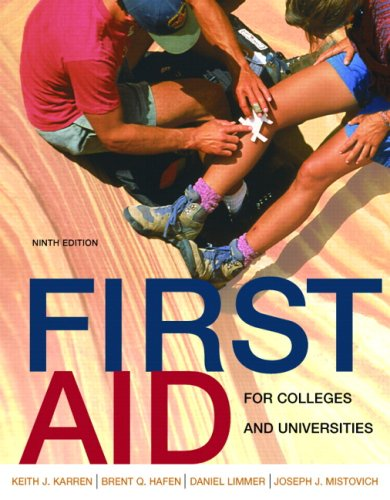 First Aid for Colleges and Universities (9th Edition)