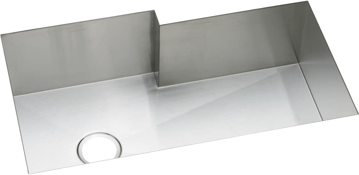 Elkay Crosstown EFUS342110R Single Bowl Undermount Stainless Steel Sink