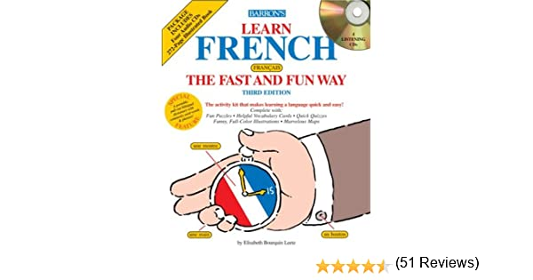 Amazon.com: Learn French the Fast and Fun Way with Audio CDs ...
