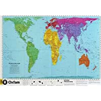 PETERS WORLD MAP, LAMINATED