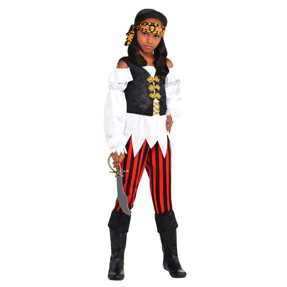 848096 TradeMart Inc 4-6 Amscan Pirate Costume Small Pretty Scoundrel