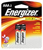 #10: Energizer EVEE92BP2 E92BP2 AAA Alkaline General Purpose Battery, .5