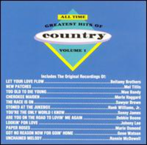 All Time Greatest Country 1 / Various (The 100 Greatest Recordings Of All Time)