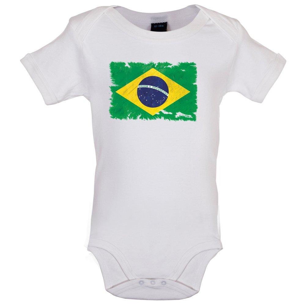 7 couleurs 0-18 mois Body pour b/éb/é Brazil // Br/ésil Drapeau style grunge