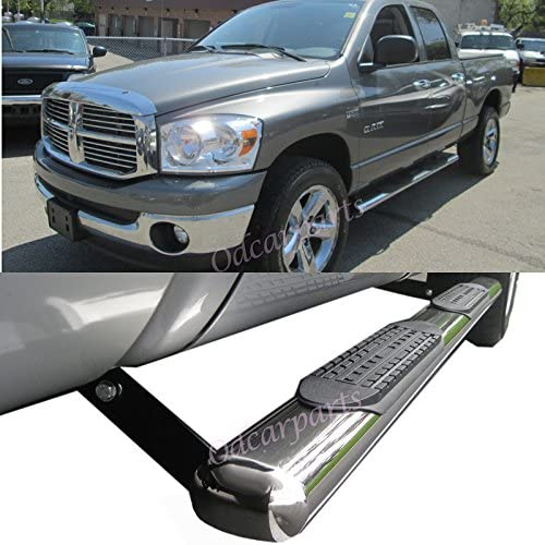 amazon com viogi fit 02 08 dodge ram 1500 03 09 2500 3500 quad crew cab pickup 4 s s oval side step rails nerf bar running boards automotive viogi fit 02 08 dodge ram 1500 03 09 2500 3500 quad crew cab pickup 4 s s oval side step rails nerf bar running boards
