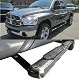 3 Inches Black Running Board Side Step Nerf Bar Compatible with Dodge Ram 1500-3500 Crew Cab 02-09