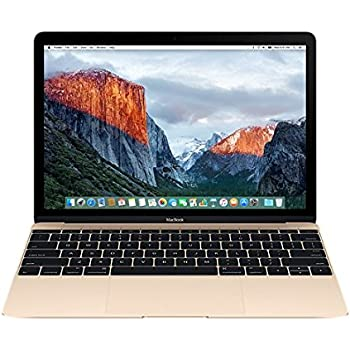 Apple MacBook MLHF2LL/A 12-Inch Laptop with Retina Display, Gold, 512 GB (Discontinued by Manufacturer)