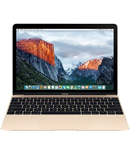Apple MacBook MLHE2LL/A 12-Inch Laptop with Retina Display, Gold, 256 GB (Discontinued by Manufacturer)