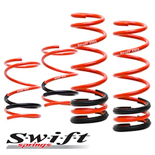 Swift Sport Lowering Springs for Subaru Impreza WRX Wagon 04-07 ()