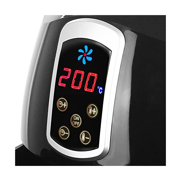 """Emerio AF-115668 - Friggitrice ad aria calda, Smart Fryer Test """"GUT"""", Friggitrice senza olio, 3,6 litri, 1400 Watt 2"""