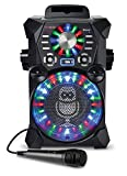 Singing Machine SDL485BK Remix Hi-Def Digital Karaoke System with Resting Tablet Cradle, Microphone, Black